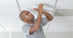 Electric Ceiling Radiant Heating 2 (Minimal Maintenance)