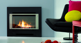 Slimfire 252 gas log fire