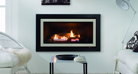 Symmetry® Gas Log fire